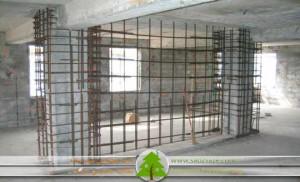 استفاده از دیوار برشی بمنظور بهسازی
