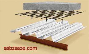 سقف کامپوزیت فولادی