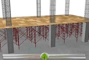 قالب بندی سقف