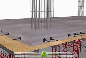 برچیدن قالب بندی دیواره های سقف