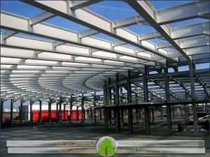 ضوابط طرح و محاسبه ساختمان های صنعتی فولادی