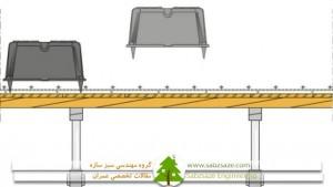 سقف دال مجوف دوپوش (U-BOOT)
